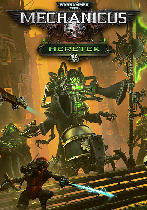 Warhammer 40,000: Mechanicus - Heretek - Cover / Packshot