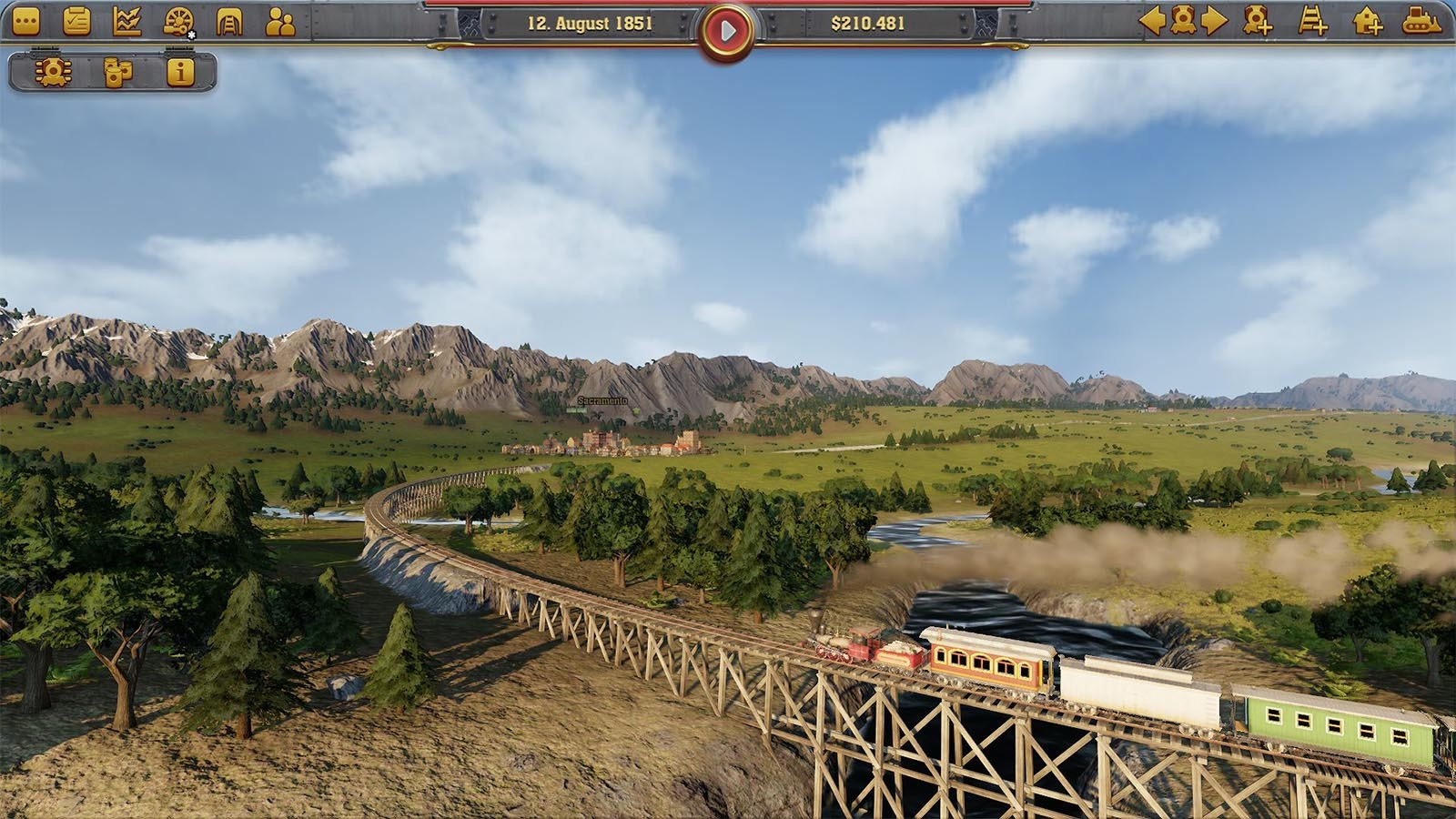 Railway Empire [Steam CD Key] for PC and Linux - Buy now
