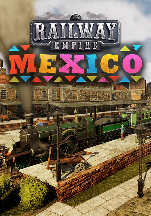 Railway Empire: Mexico - Cover
