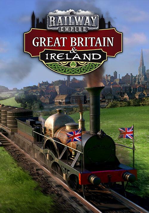 Railway Empire: Great Britain & Ireland - Cover