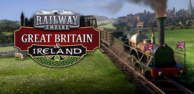 Railway Empire: Great Britain & Ireland - Cover / Packshot