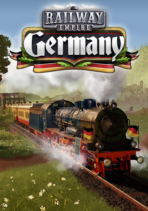 Railway Empire: Germany - Cover