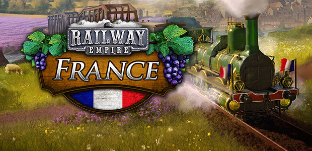Railway Empire: France - Cover / Packshot