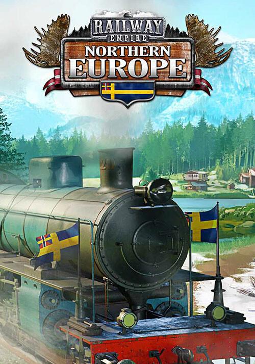 Railway Empire: Northern Europe - Cover / Packshot