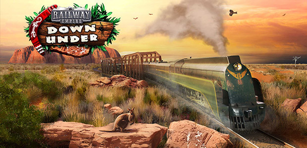 Railway Empire: Down Under - Cover / Packshot