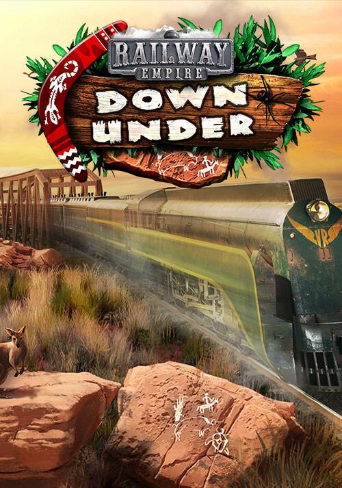 Railway Empire - Down Under - Cover / Packshot