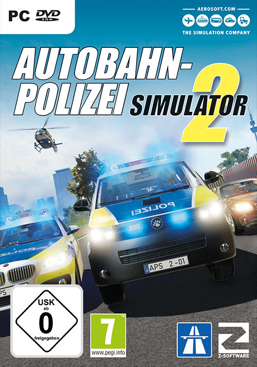 Autobahnpolizei Simulator 2 - Cover / Packshot