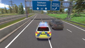Screenshot4 - Autobahnpolizei Simulator 2
