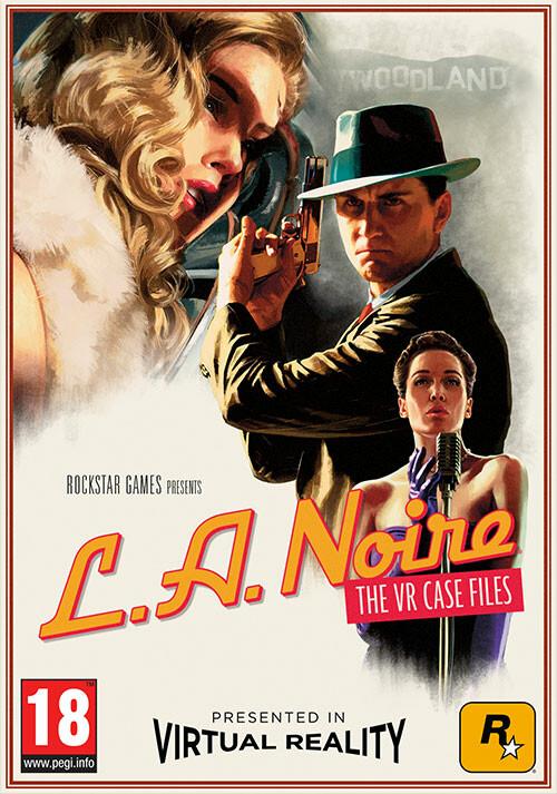 L.A. Noire : The VR Case Files - Cover / Packshot