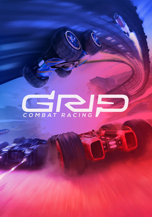 GRIP: Combat Racing - Cover / Packshot