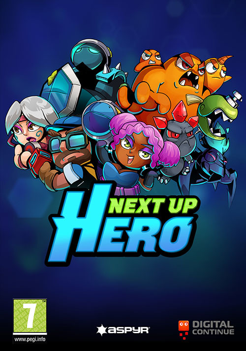 Next Up Hero - Cover / Packshot
