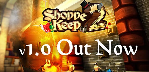Shoppe Keep 2 - Cover / Packshot