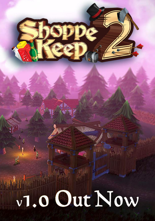 Shoppe Keep 2 - Cover