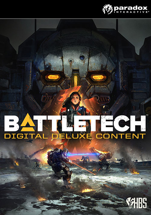 BATTLETECH - Digital Deluxe Content - Packshot