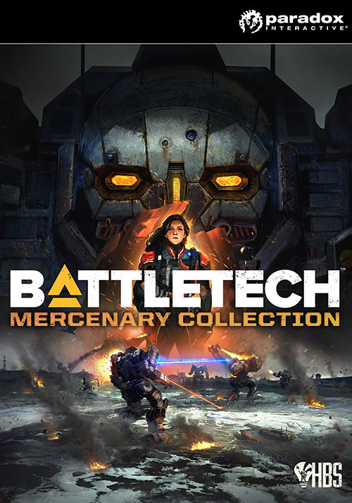 BATTLETECH Mercenary Collection - Cover / Packshot