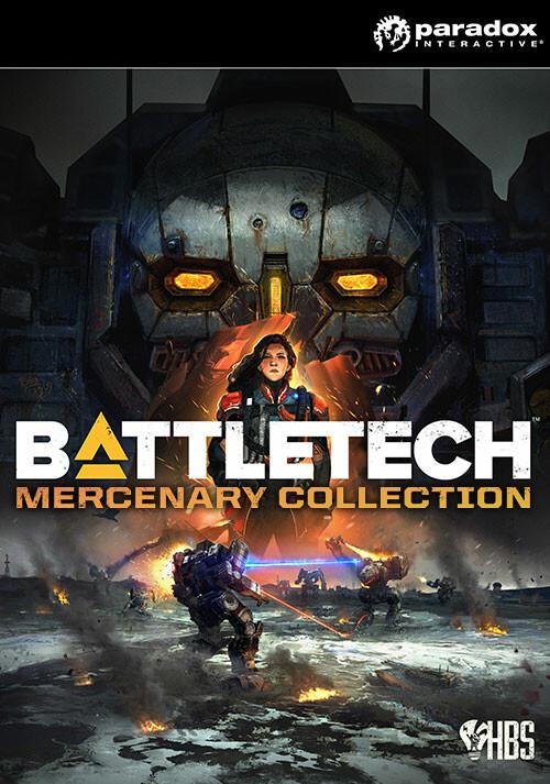 BATTLETECH Mercenary Collection - Cover