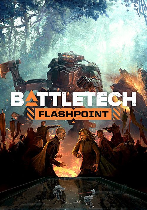 BATTLETECH Flashpoint - Cover / Packshot