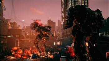 Screenshot4 - BATTLETECH Urban Warfare
