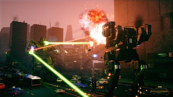 Screenshot7 - BATTLETECH Urban Warfare