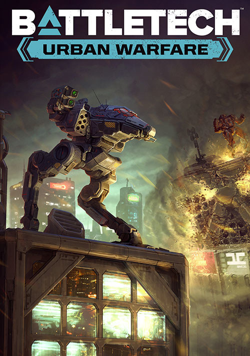 BATTLETECH Urban Warfare - Cover / Packshot