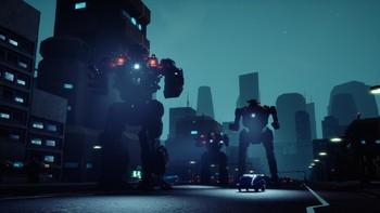 Screenshot1 - BATTLETECH Urban Warfare