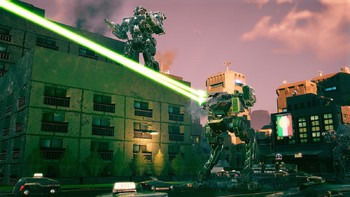 Screenshot9 - BATTLETECH Urban Warfare