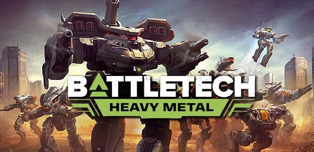 BATTLETECH Heavy Metal - Cover / Packshot