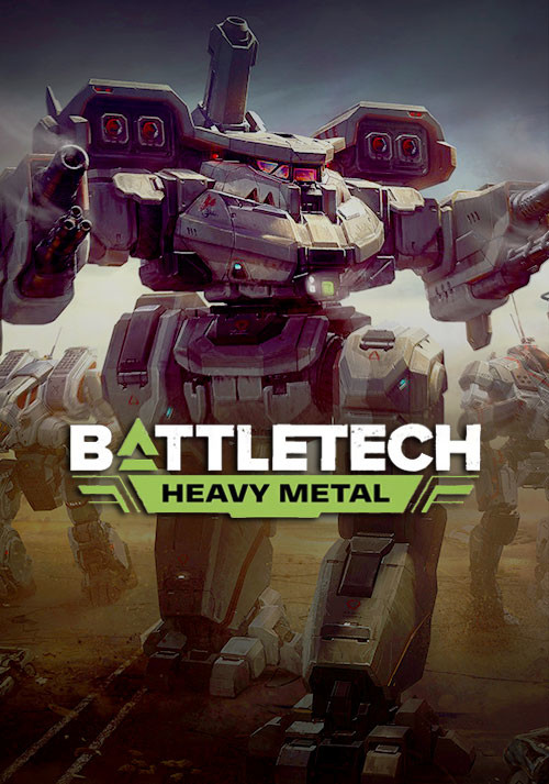 BATTLETECH Heavy Metal - Cover / Packshot