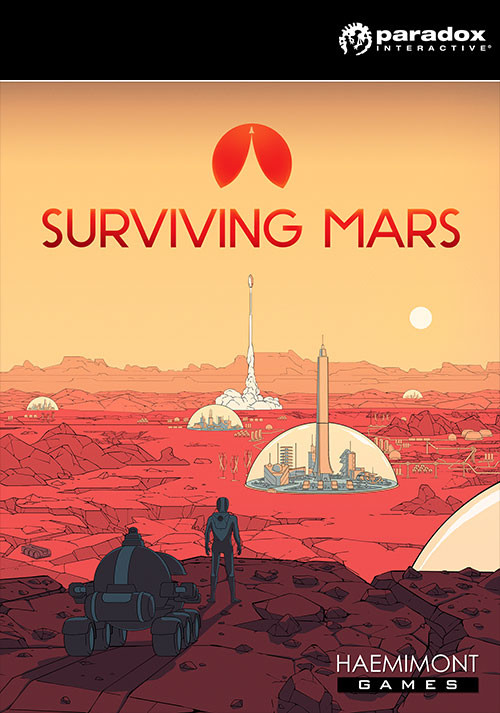 Surviving Mars - Packshot