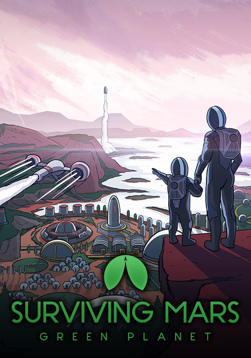 Surviving Mars: Green Planet - Cover
