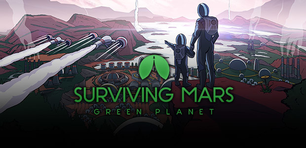 Surviving Mars: Green Planet - Cover / Packshot
