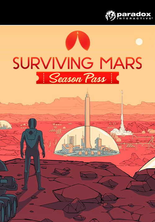 Surviving Mars: Season Pass - Cover