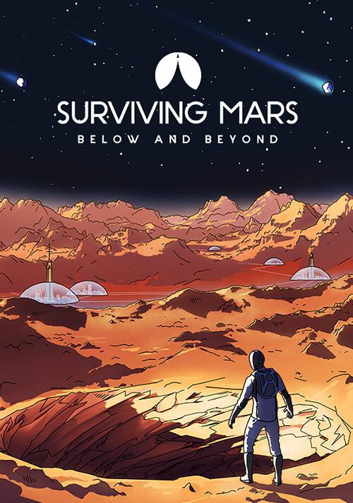 Surviving Mars: Below and Beyond - Cover / Packshot