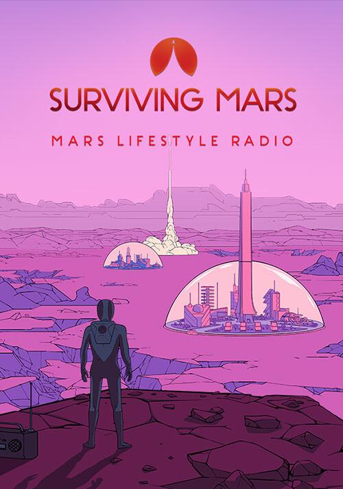 Surviving Mars: Mars Lifestyle Radio - Cover / Packshot