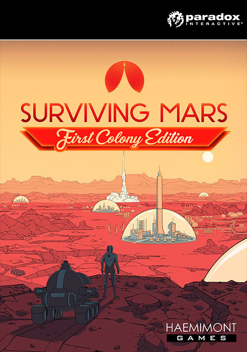 Surviving Mars - First Colony Edition - Packshot