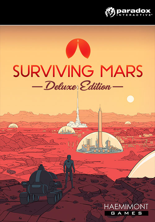 Surviving Mars - Digital Deluxe Edition - Cover / Packshot