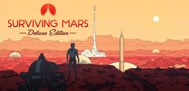 Surviving Mars - Digital Deluxe Edition - Cover / Packshot