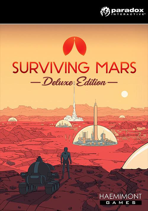 Surviving Mars - Digital Deluxe Edition - Packshot