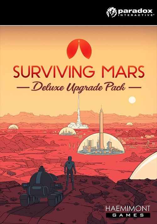 Surviving Mars: Deluxe Upgrade Pack - Cover