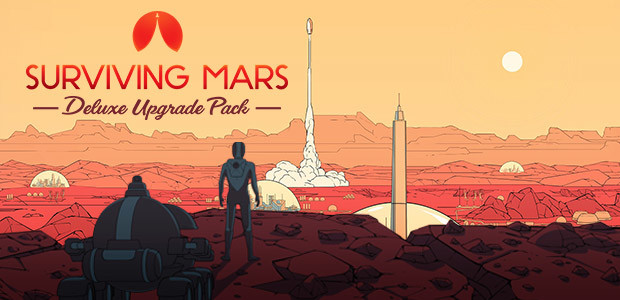 Surviving Mars: Deluxe Upgrade Pack - Cover / Packshot