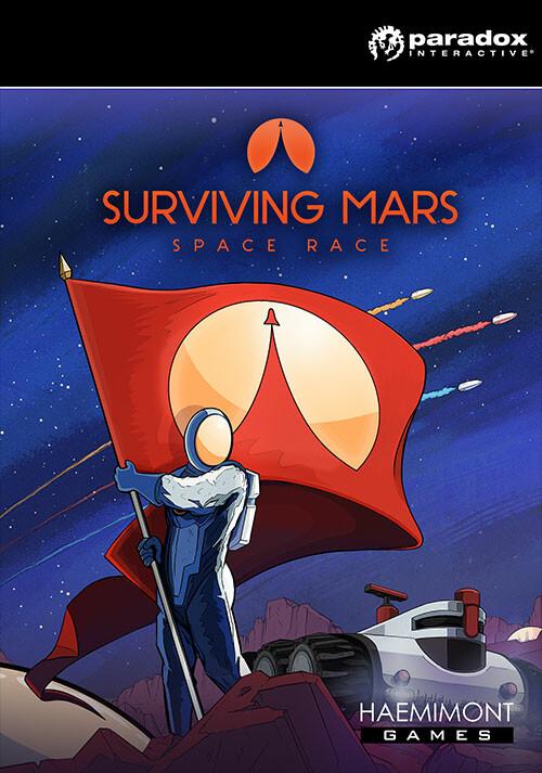 Surviving Mars: Space Race - Cover