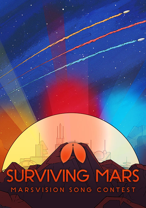Surviving Mars: Marsvision Song Contest - Cover / Packshot