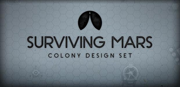 Surviving Mars: Colony Design Set - Cover / Packshot