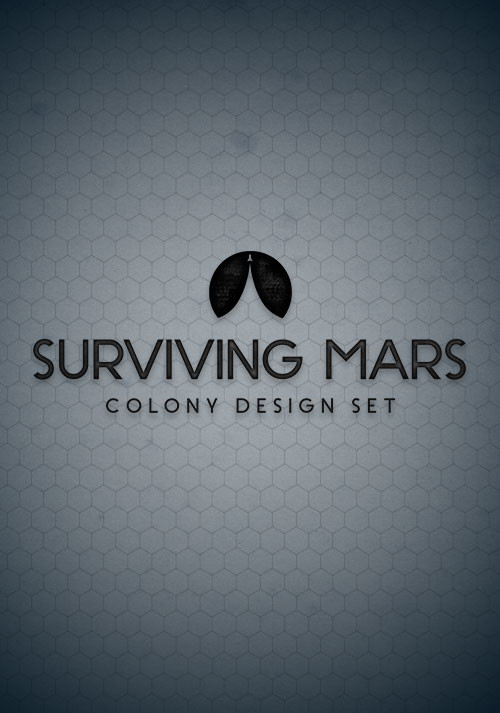 Surviving Mars: Colony Design Set - Cover / Packshot