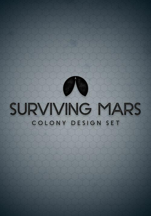 Surviving Mars: Colony Design Set - Cover