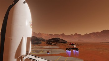 Screenshot1 - Surviving Mars: Space Race Plus