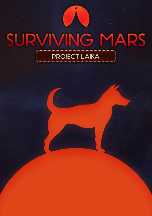 Surviving Mars: Project Laika - Cover