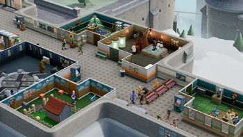 Screenshot1 - Two Point Hospital: Bigfoot