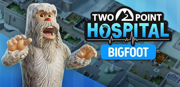 Two Point Hospital: Bigfoot - Cover / Packshot