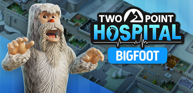 Two Point Hospital: Bigfoot - Cover / Packshot